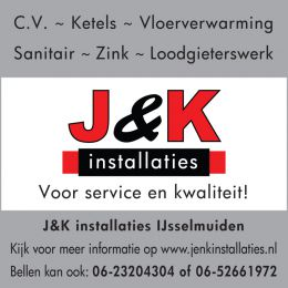 J & K advertentie