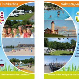 Roll up banners Vakantiepark het Urkerbos