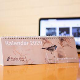 Bureaukalender Pieter Bosch fotografie 2020