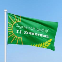 Vlag Agrarisch bedrijf T.J. Zomerman
